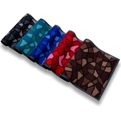 Mosaic 50x75cm Brown