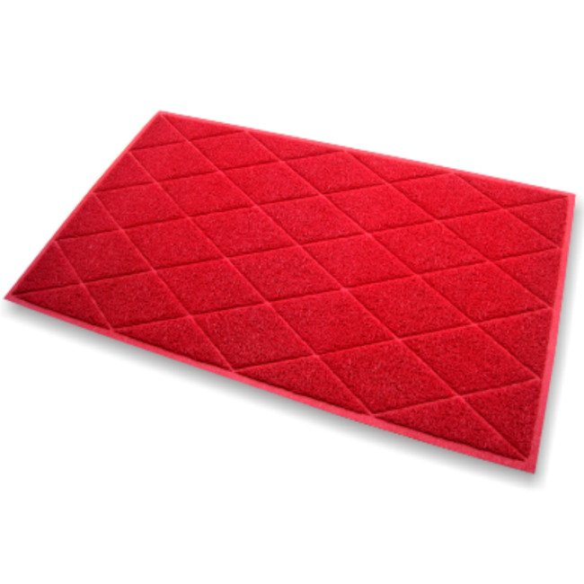 Diamond 75x120cm Red