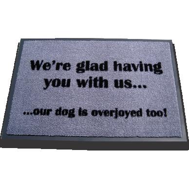 Overjoyed Dog 50x75cm