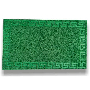 Greek Key 45x75cm Green