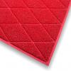 Diamond 75x120cm Red